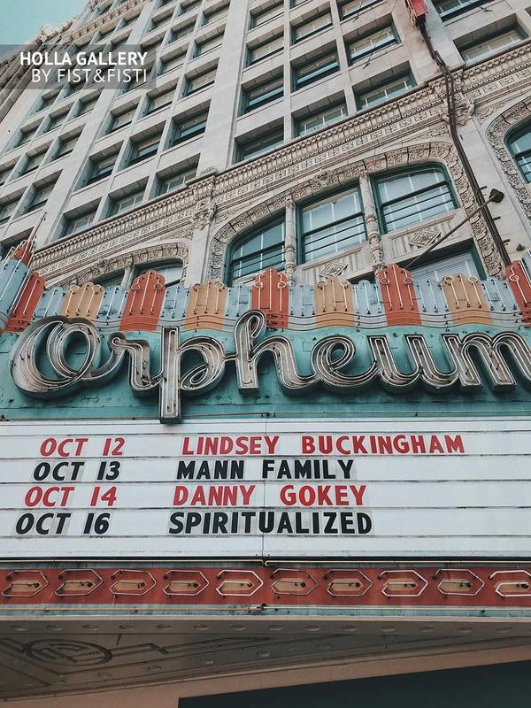 Театр Orpheum в историческом центре Los Angeles. Фото плакат