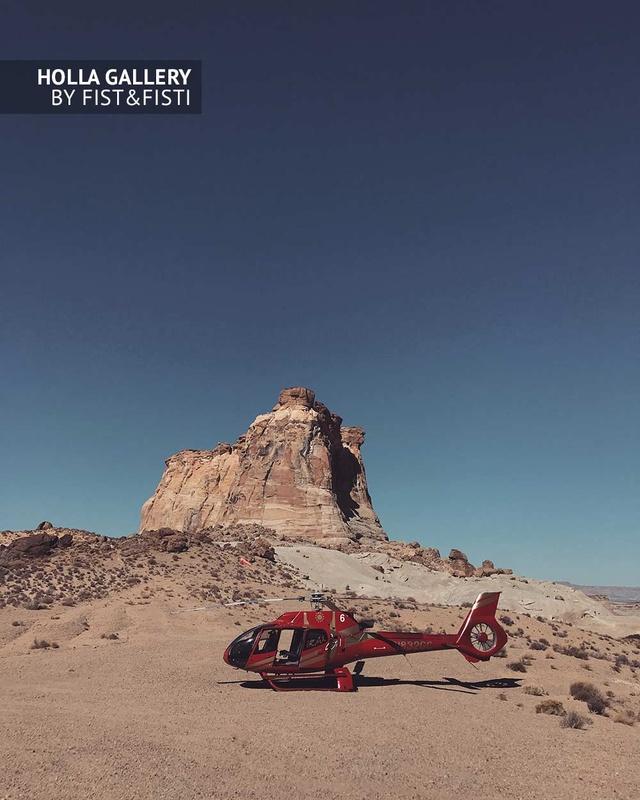 Utah, вертолет, скалы, национальный парк, пустыня