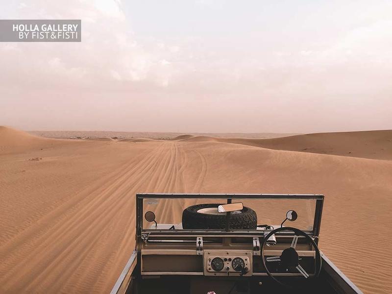 Авто, пустыня, кабриолет, небо, следы