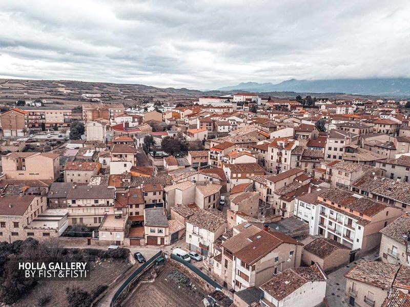 Вид на старый город Эльсьего с высоты