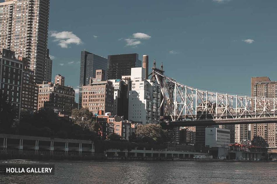 Небоскребы и Бруклинский мост