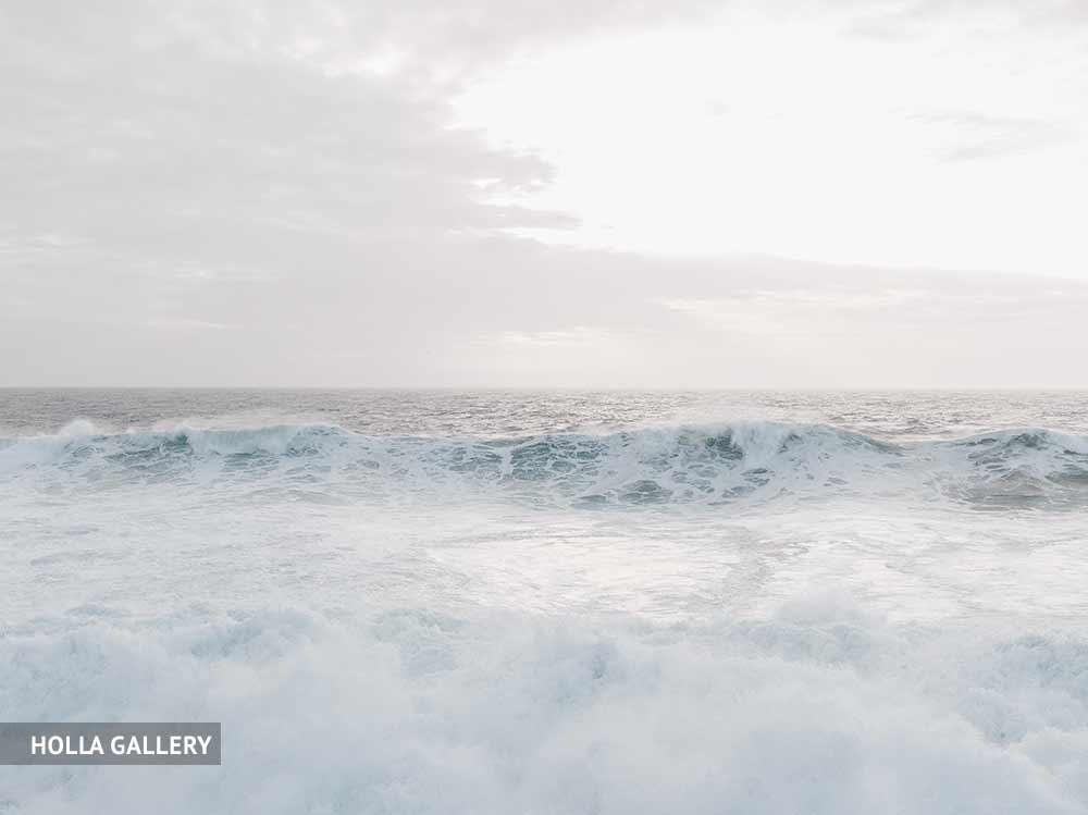 Очень пенистое Средиземное море