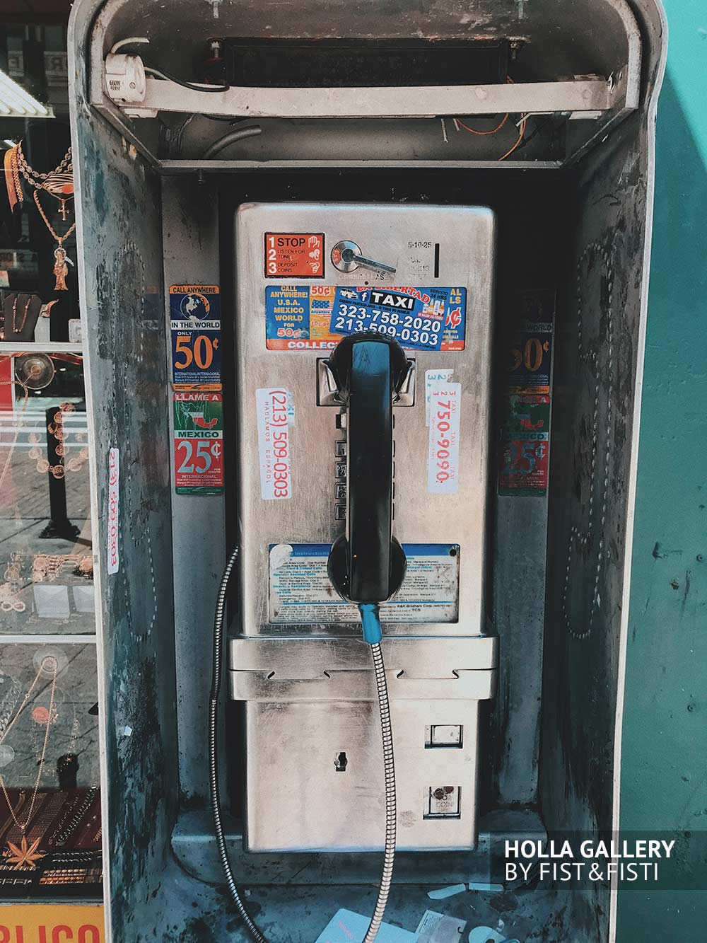 call-box, телефон, телефонная будка, Нью-Йорк