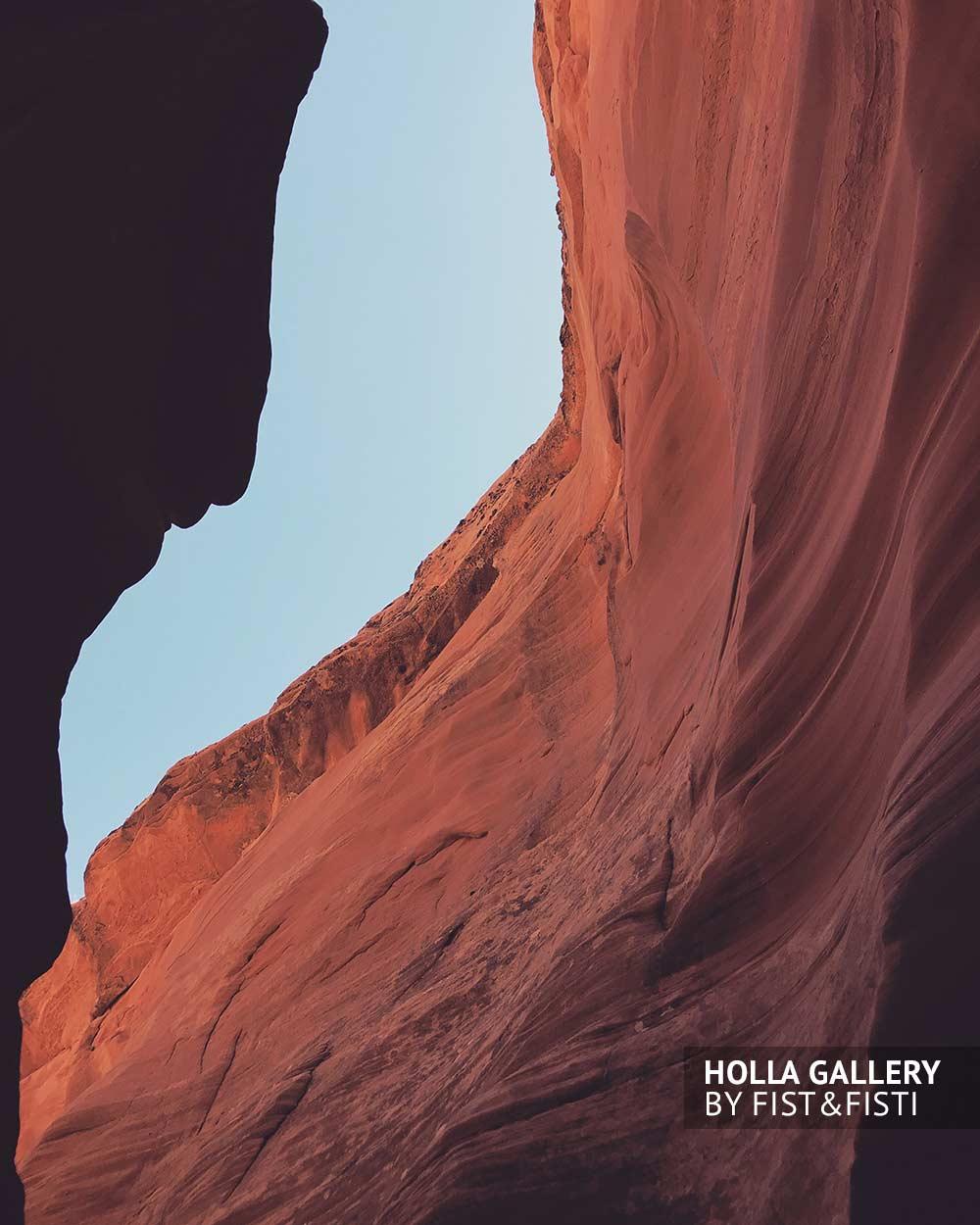 Красные скалы каньона Антилопы в США