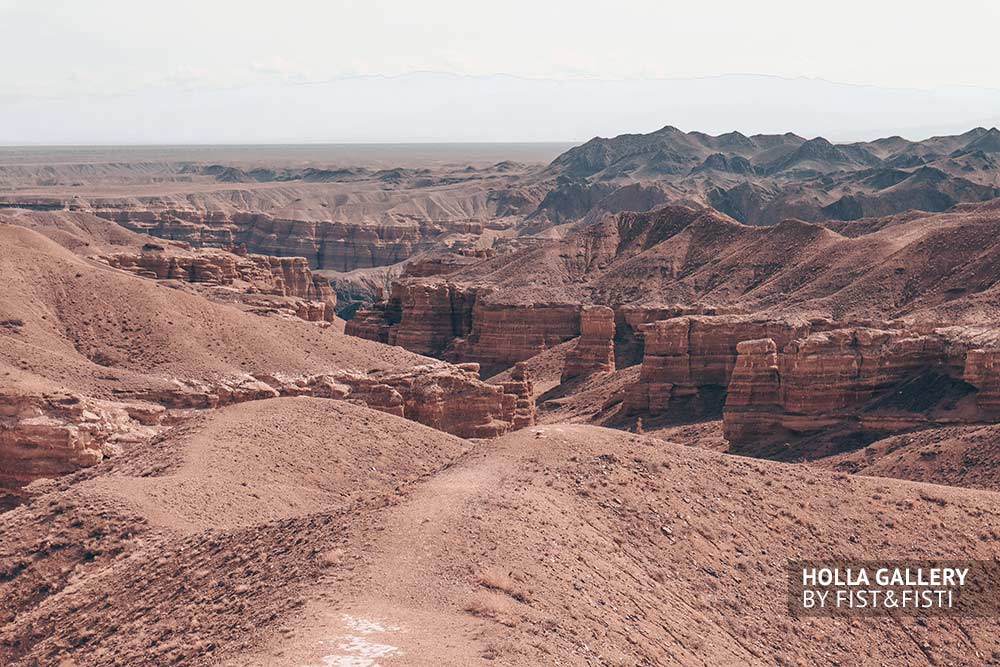 Чарынский каньон, Казахстан, долина. Фото картина