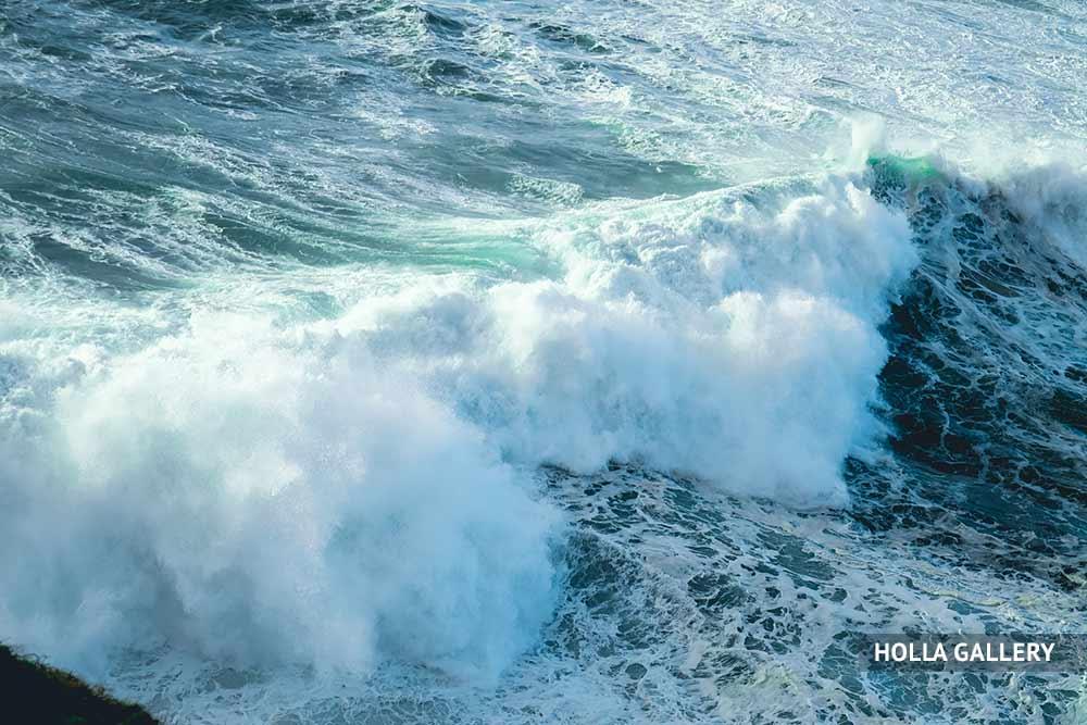 Бушующее Средиземное море