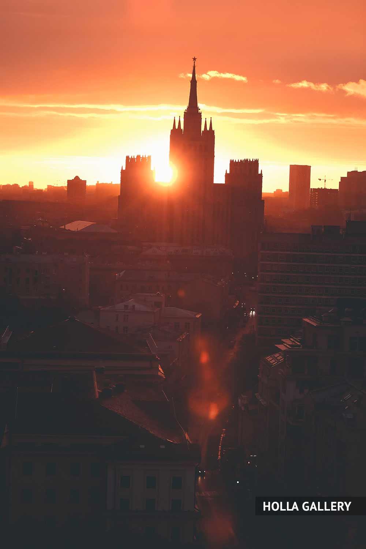 Высотка на Баррикадной. Москва