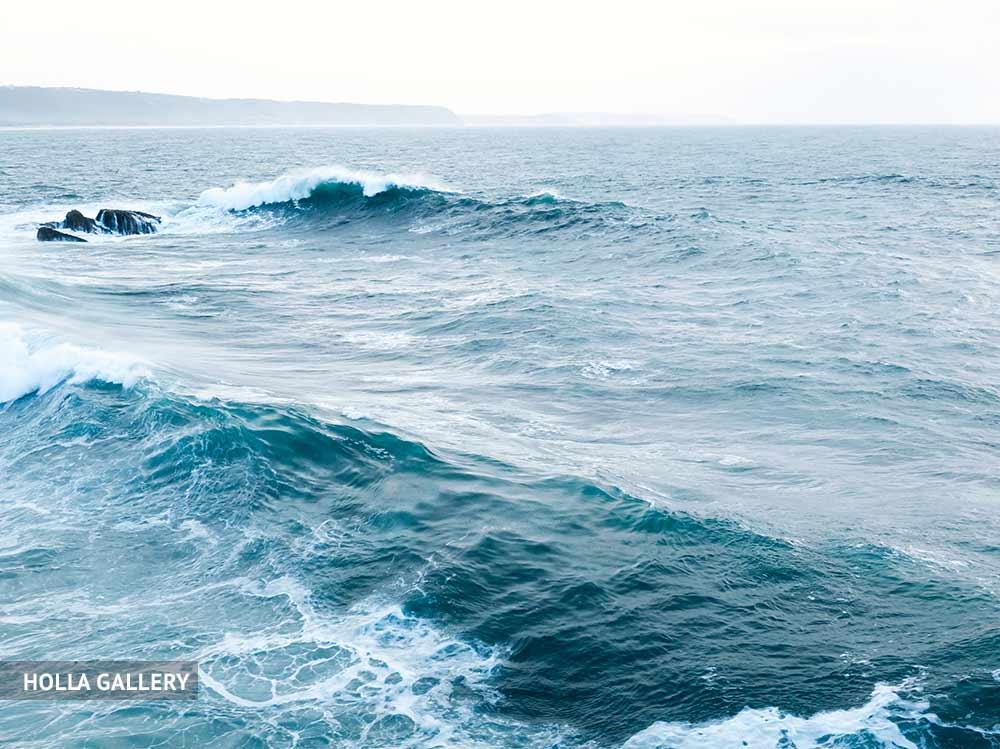 Средиземное море и горизонт